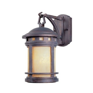 """Designers Fountain 2370-AM-MP 1 Light 5.5"""" Cast Aluminum Wall Lantern from the Sedona Collection"""