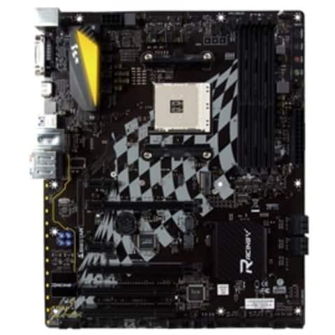 Biostar Motherboard B350GT5 AMD A-series AM4 B350 32GB DDR4 DVI-D/HDMI PCI Express SATA ATX Retail