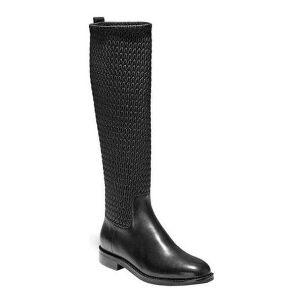 e6180270e0c77 Shop Cole Haan Women's Lexi Grand Stretch Boot Black Leather - On ...