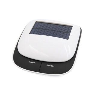 Unique Bargains Car Balck White 2.5W Air Cleaner Solar Energy Purifier DC 5V 500mA