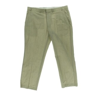 Kenneth Cole New York Mens Linen Blend Cotton Dress Pants - 40/30