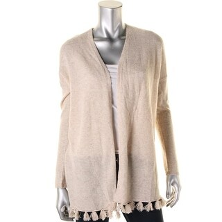 Moon & Meadow Womens Cashmere Open Front Cardigan Sweater
