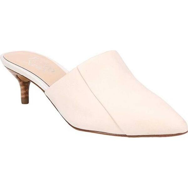 914943d1029 Shop Franco Sarto Women's Doxie Mule Milk Satin Nubuck Leather ...