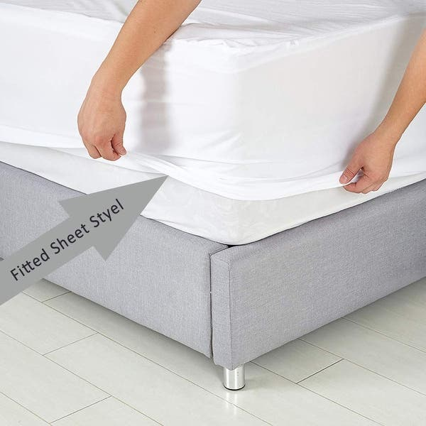 Jml Premium Hypoallergenic Waterproof Mattress Protector On Sale Overstock 31830894