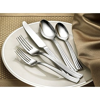 Hampton Forge Signature Classic 20 Piece Stainless Steel Flatware Set