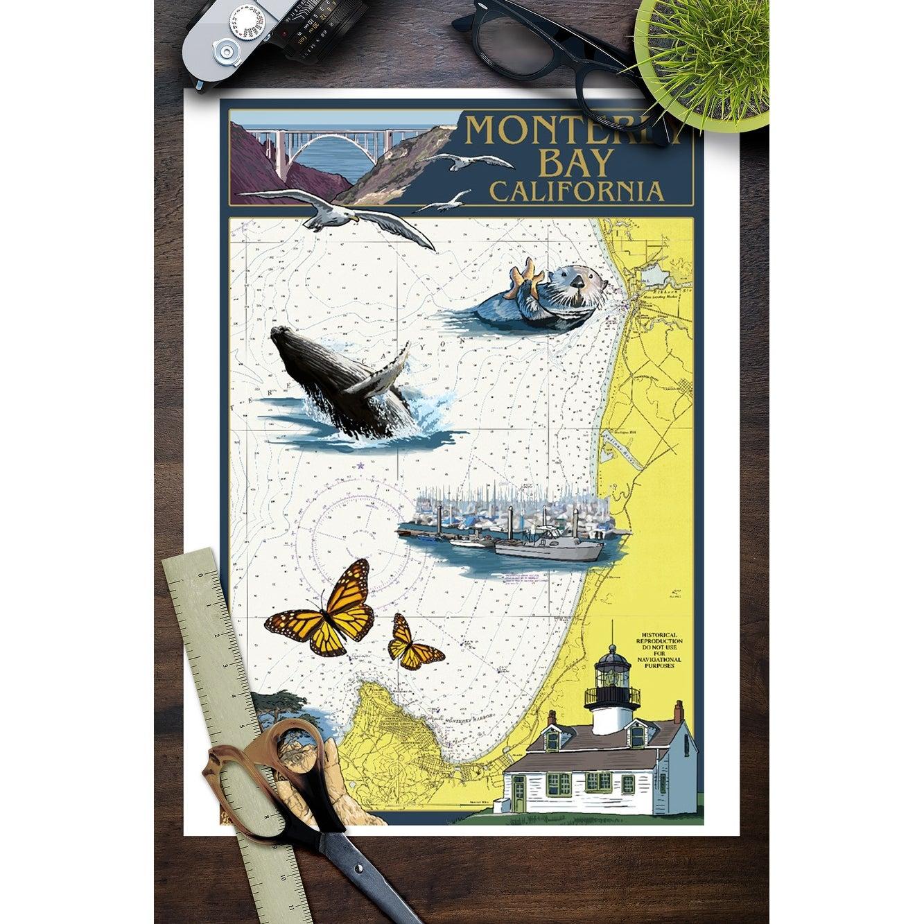 Monterey Bay Ca Nautical Chart