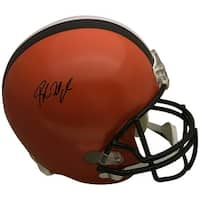 Baker Mayfield Autographed Cleveland Browns Signed Full Size Football Helmet PSA DNA COA