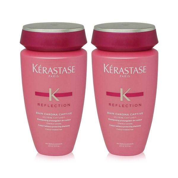 Kerastase Reflection Bain Chroma Captive Shampoo 8.5 Oz - 2 Pack