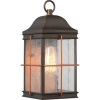 """Nuvo Lighting 60/5832 Howell Single Light 14-1/8"""" Tall Outdoor Wall Sconce with"""