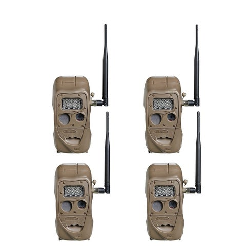 Cuddeback CuddeLink J Series Long Range IR Trail Camera (4 Pack)