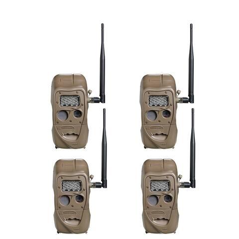 Cuddeback CuddeLink J Series Long Range IR Trail Camera (4 Pack)