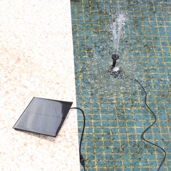 Shop Agptek Solar Power Fountain Pool Water Pump For Garden Watering
