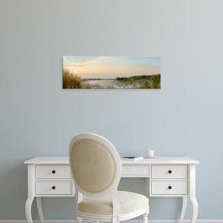 Easy Art Prints Alan Blaustein's 'Island Sand Dunes Sunrise No. 1' Premium Canvas Art