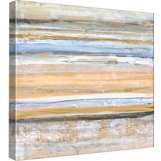"PTM Images 9-97886  PTM Canvas Collection 12"" x 12"" - ""Banded 1"" Giclee Abstract Art Print on Canvas"