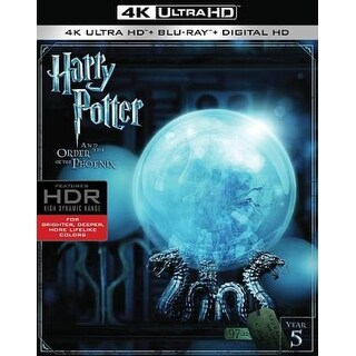 Harry Potter and the Order of the Phoenix - 4K Ultra HD Blu-ray