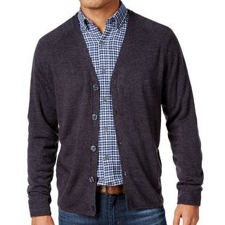 Weatherproof NEW Charcoal Gray Mens Size Large L Marled Knit Cardigan|https://ak1.ostkcdn.com/images/products/is/images/direct/c55d569978484a6bde53b39f8c1ffb95d0e4bf27/Weatherproof-NEW-Charcoal-Gray-Mens-Size-Large-L-Marled-Knit-Cardigan.jpg?impolicy=medium