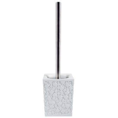 Toilet Brush And Holder Spirella Agda White