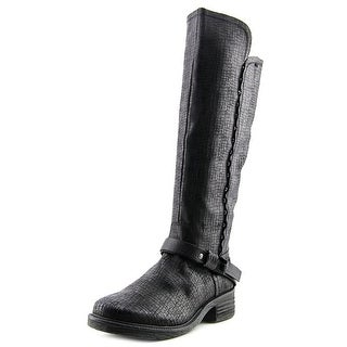 OTBT Cache Women Round Toe Leather Knee High Boot