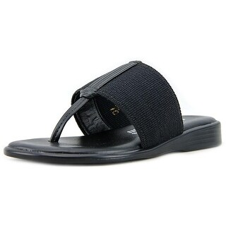 Callisto Pop Open Toe Canvas Thong Sandal