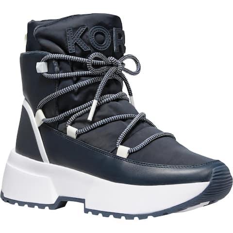 MICHAEL Michael Kors Womens Cassia Winter Boots Booties Snow - Admiral