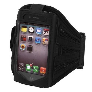 Sports Running Jogging Gym Armband Case Cover Holder Black for iPhone 4S