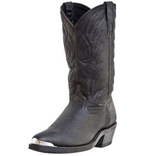 Laredo Western Boots Mens East Bound Trucker Leather Black 68610