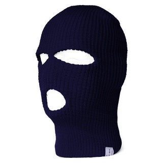 Face Ski Mask 3 Hole (More Colors)- Navy