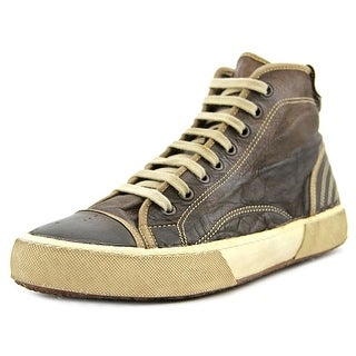 Pantofola d'Oro Meant Women Round Toe Leather Brown Sneakers