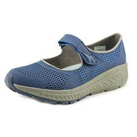 Baretraps Trina Women  Round Toe Synthetic Blue Mary Janes