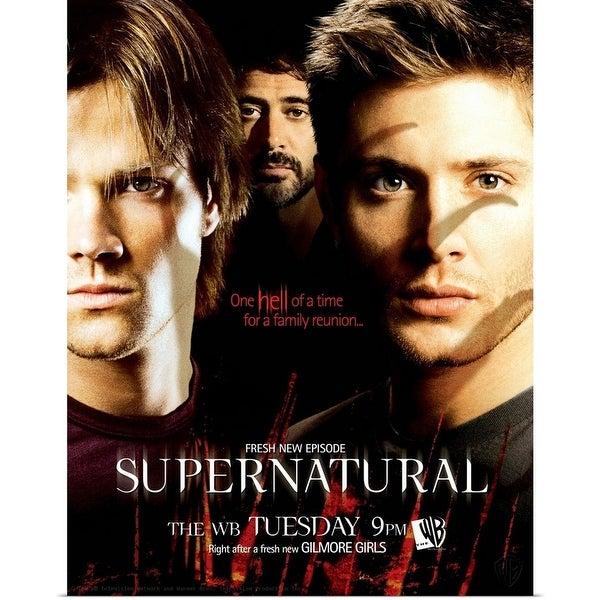 Poster Print entitled Supernatural (TV) (2005) - Multi-color