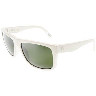 Electric Men's Swingarm EE12953841 White Rectangle Sunglasses