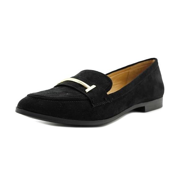 Alfani Ameliaa Women Moc Toe Synthetic Black Loafer