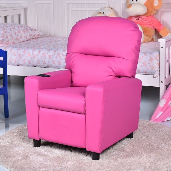 Shop Gymax Kids Armchair Recliner Children S Furniture