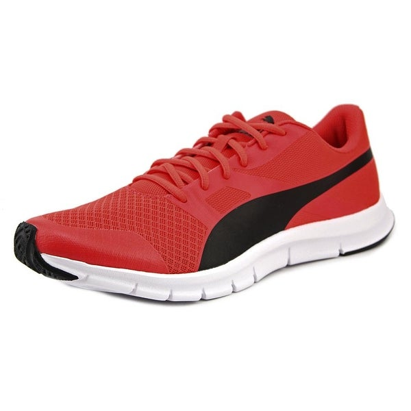 Puma Flexracer Men Round Toe Synthetic Red Running Shoe