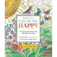 Race Point Publishing Books-Portable Color Me Happy
