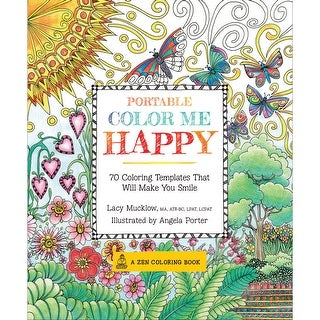 Race Point Publishing Books-Portable Color Me Happy
