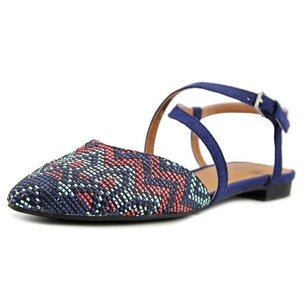 Indigo Rd. Genetic 3 Women Open Toe Canvas Blue Sandals