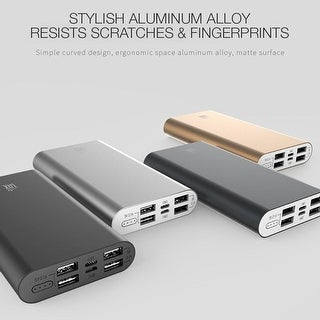 LAX Pro Series 16,800mAh Four USB Port Power Bank Rapid Charger
