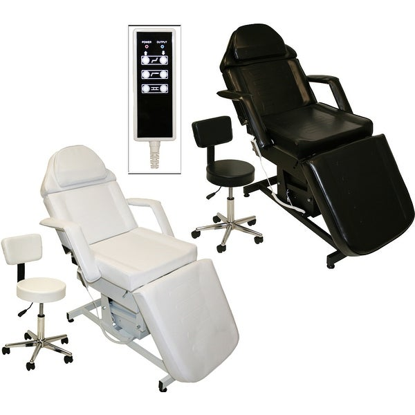 Electric Tattoo Massage Facial Table Bed Chair Barber Beauty Spa Salon Equipment