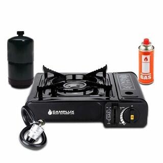 New Dual Fuel Propane & Butane Portable Outdoor Camping Gas Stove