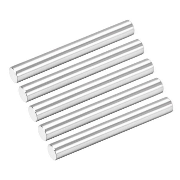 50Pcs 3mm x 50mm Dowel Pin 304 Stainless Steel Shelf Support Pin Fasten