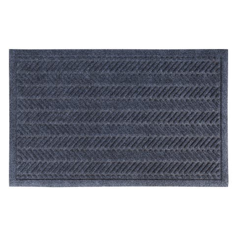 "Fishbone Weather Beater Polypropylene Mat 22"" x 35"""
