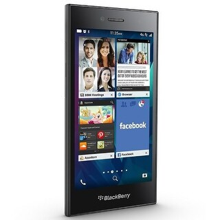 BlackBerry Leap STR100-2 16GB Unlocked GSM 4G LTE Phone - Shadow Grey
