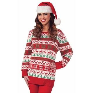 Ugly Christmas Sweater Winter Wonderland Adult