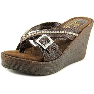 Sbicca Horizon Snake  Women  Open Toe Synthetic  Wedge Sandal