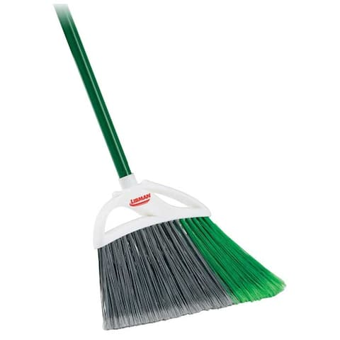 Libman 205 Large Precision Angle Broom for Indoor/Outdoor Use