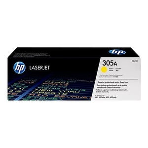 Hewlett Packard CE412A HP 305A Yellow Original LaserJet Toner Cartridge