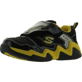 Skechers Luma-Wave Lighted Sneaker - Black/Yellow