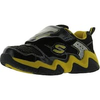 Skechers Luma-Wave Lighted Sneaker - Black/Yellow
