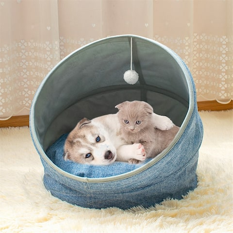 Pet Bed Supplies Folding Four Seasons Applicable Fashionable Goods Cute Soft Warm Non-slip Washing
